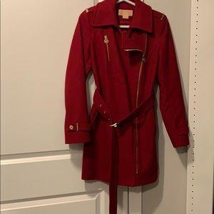 Michael Kors Red Coat